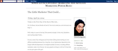 simon leung first blog post