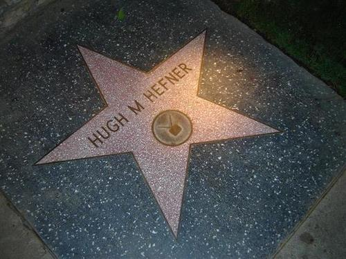 hugh hefner star